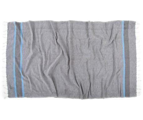 Kupaonski ručnik Pestemal Kara Smokey 90x170 cm