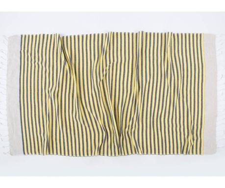 Kupaonski ručnik Pestemal Side Yellow 90x170 cm