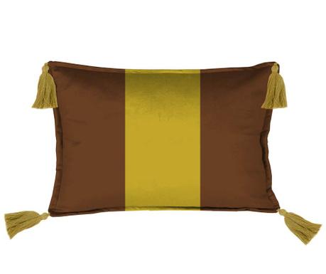 Dekorační polštář Mustard link 35x50 cm