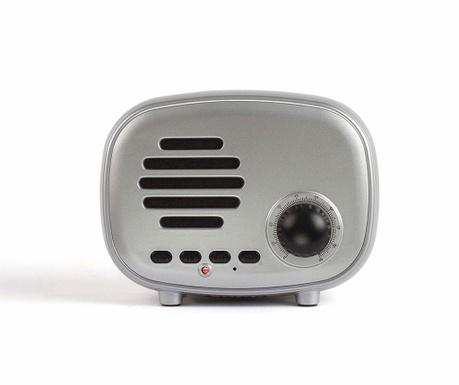 Přenosný reproduktor s Bluetooth Radio Silver