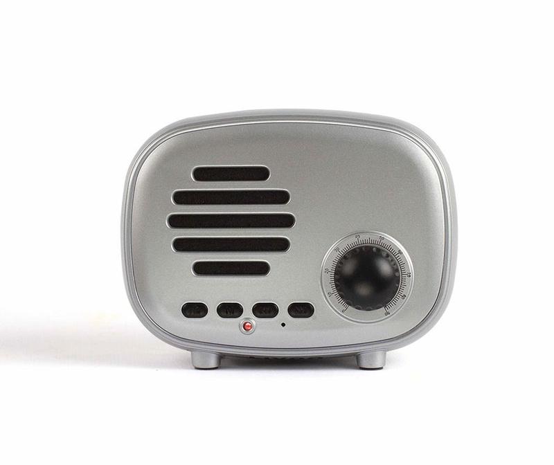 Prenosni Bluetooth zvočnik Radio Silver