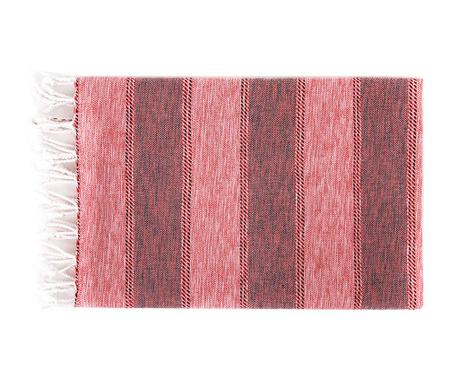 Kupaonski ručnik Pestemal Ege Red 90x170 cm