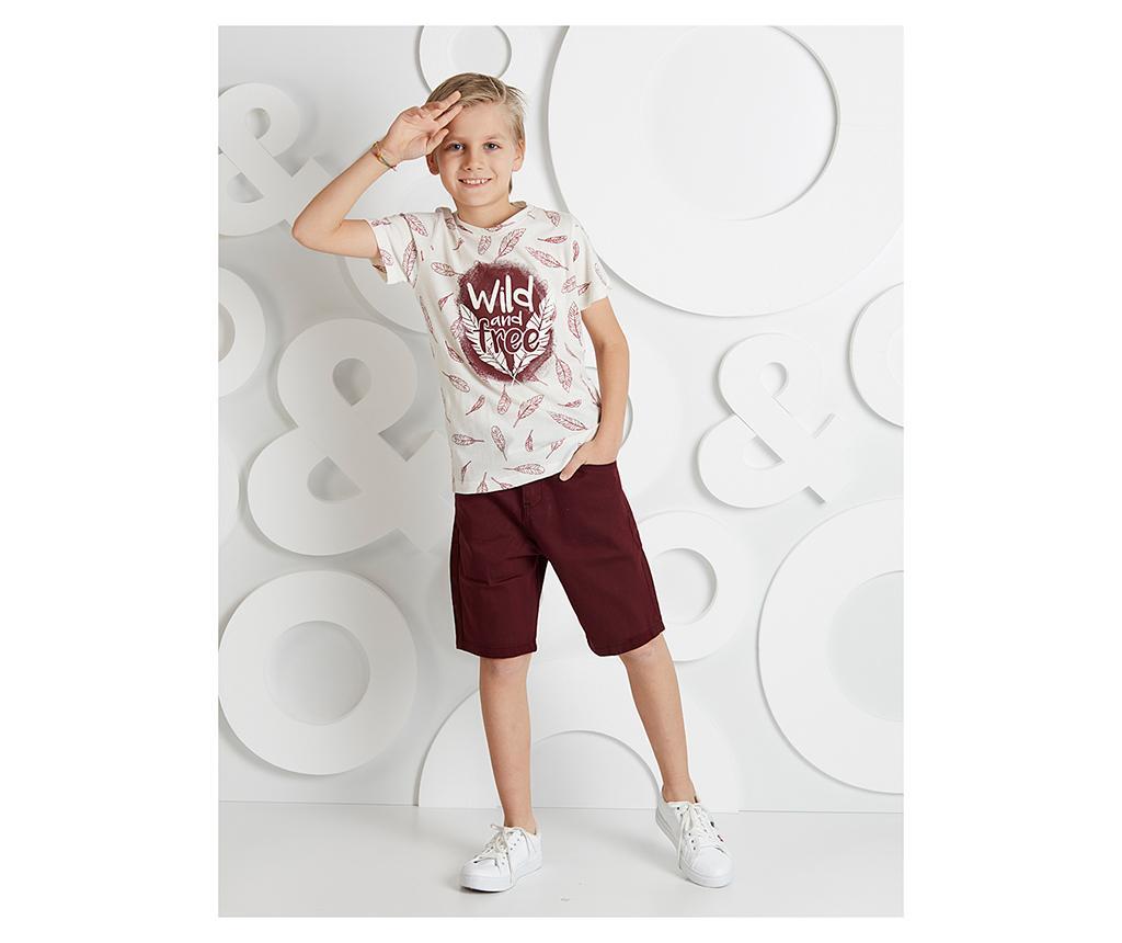 Set tricou si pantaloni pentru copii Be Free 5 ani