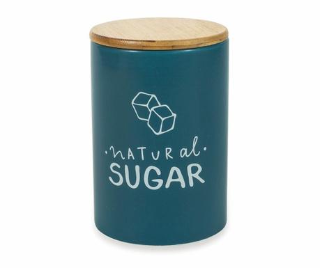 Съд с капак с херметическо затваряне за захар Natural