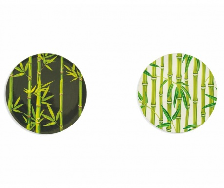 Sada 6 mělkých talířů Urban Bamboo