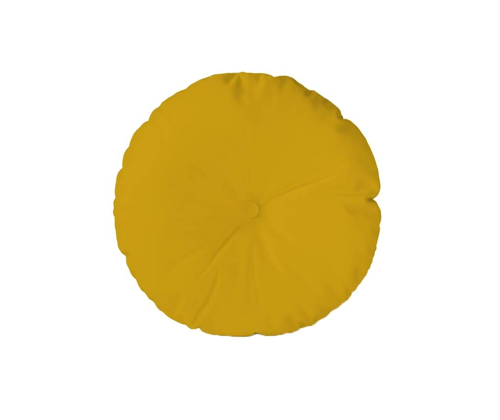 Perna decorativa Boton Mustard