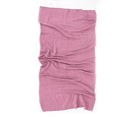 Peshtemal kopalna brisača Ilgin Pink 90x170 cm