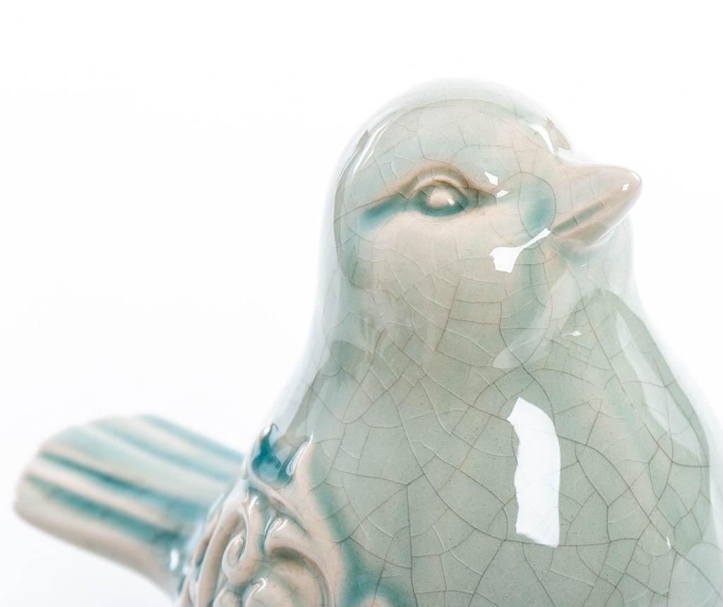 Set 2 decoratiuni Reginald Bird Green