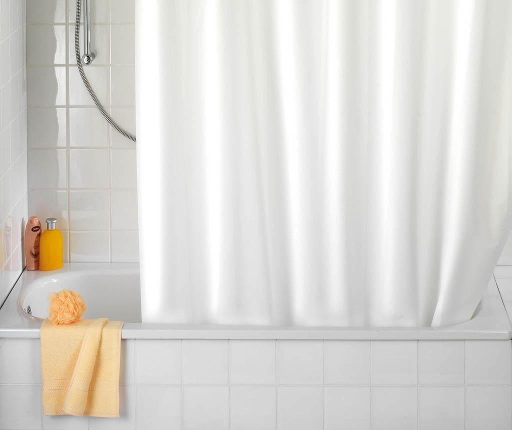 Zasłona prysznicowa Fresh White 180x200 cm