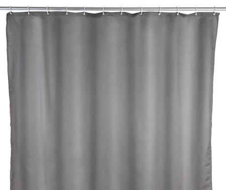 Zasłona prysznicowa Barry Grey 180x240 cm