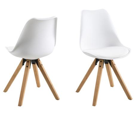 Sada 2 židlí Dima White