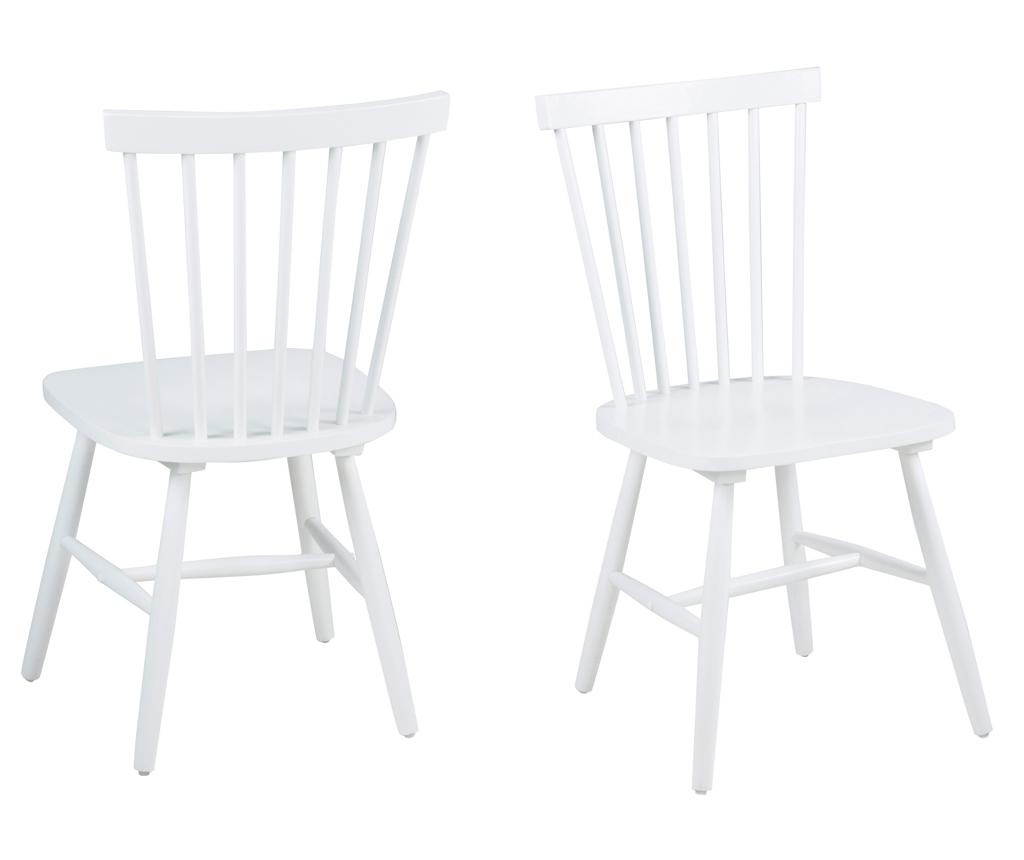 Set 2 stolice Riano White