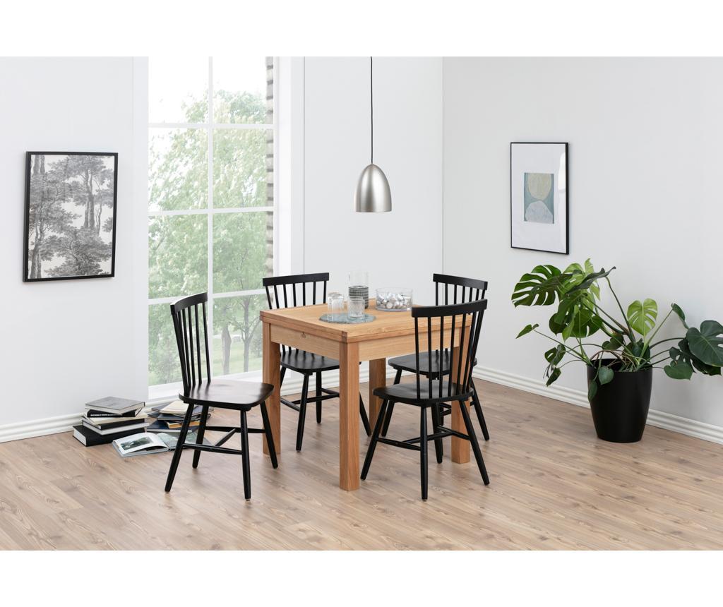 Set 2 stolice Riano Black