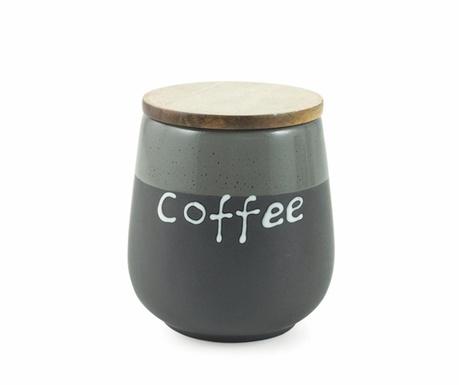Nádoba s hermetickým víkem na kávu Mocaccino Black