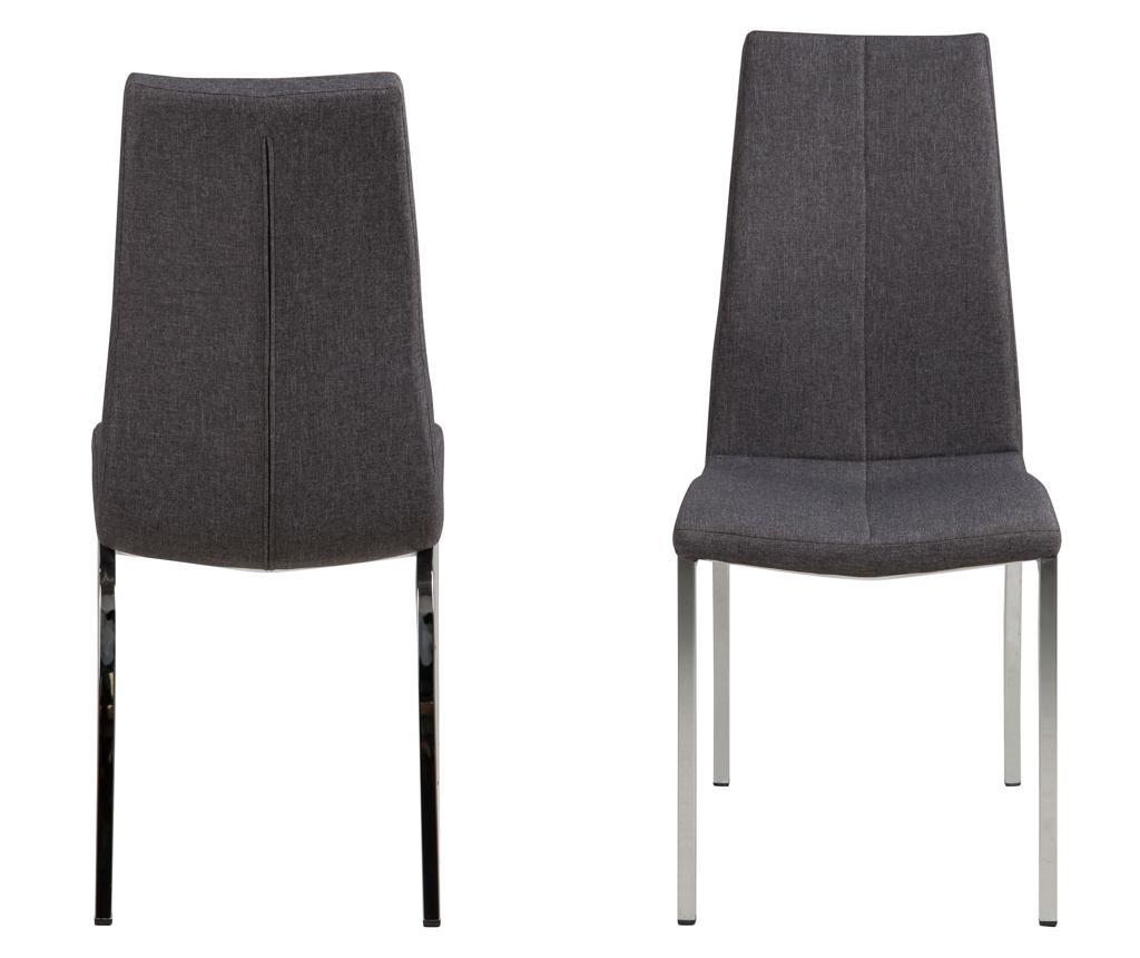 Set 4 stolice Asama Grey