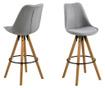 Set 2 barske stolice Dima Corsica Light Grey