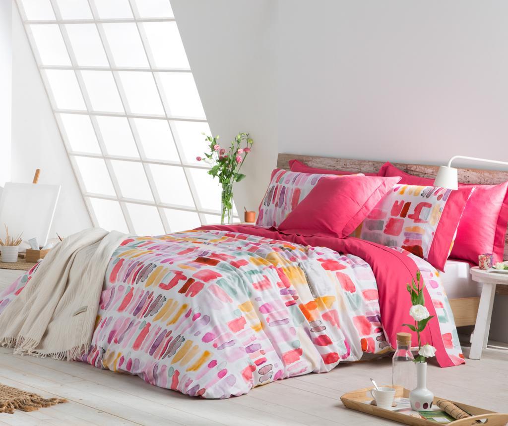 Set de pat Double Lille Pink
