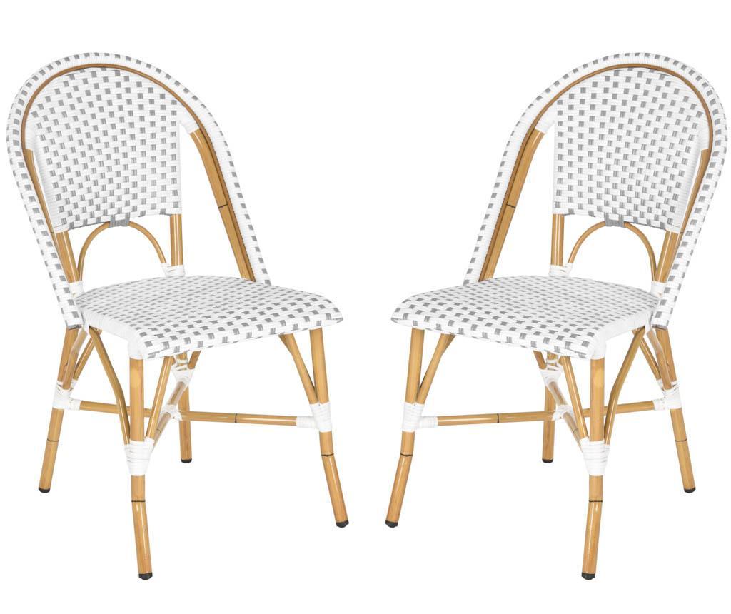 Set 2 stolice za vanjski prostor Adalene Greys