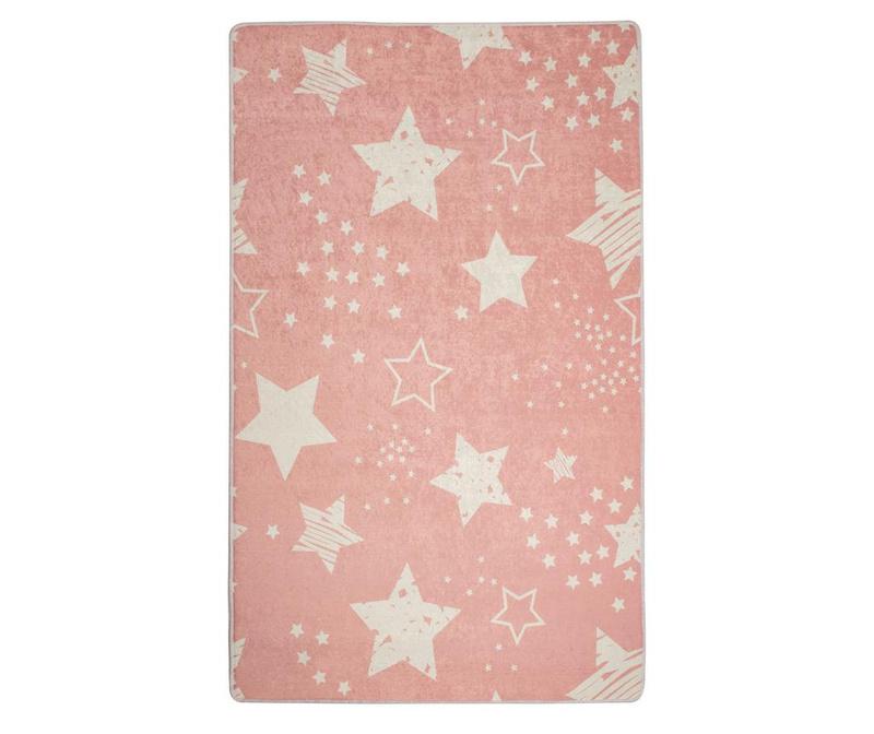 Stars Pink Szőnyeg 100x160 cm