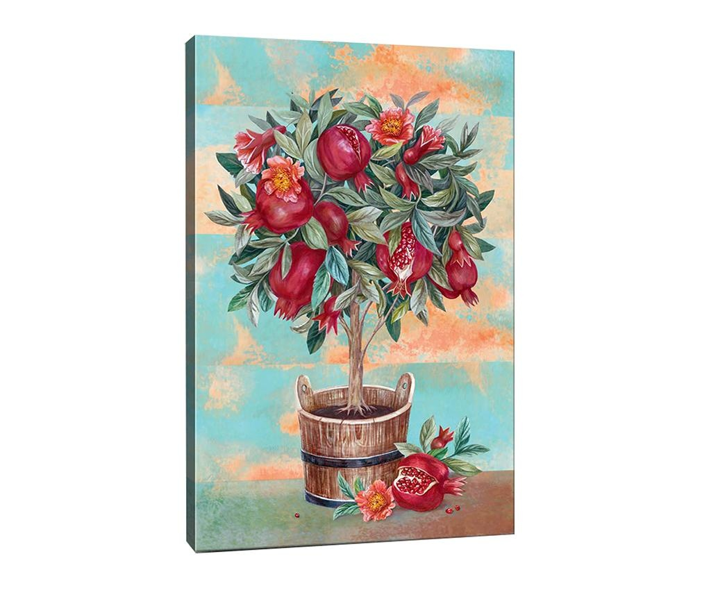 Tablou Pomegranate Tree 70x100 cm