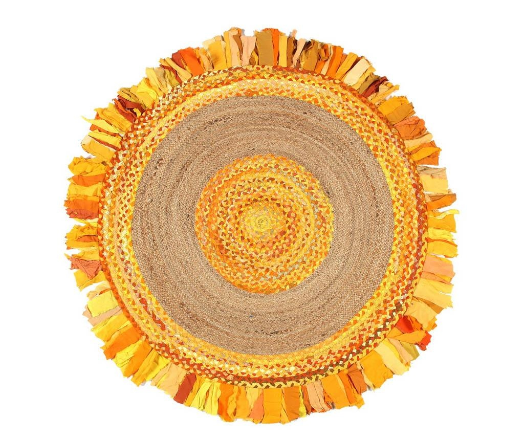 Covor Frenzy Circle Gold 150 cm