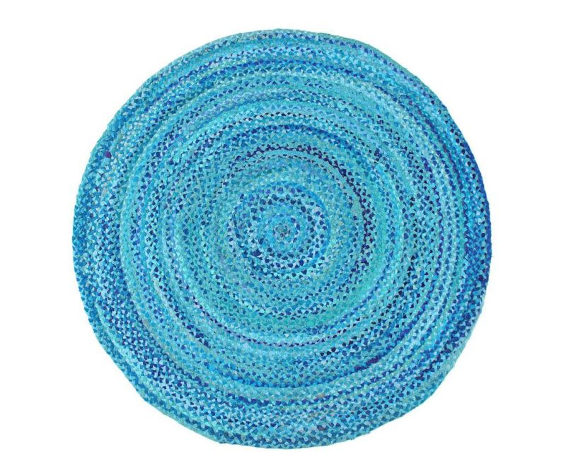 Preproga Circle Cluster Aqua 150 cm