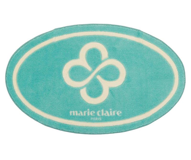 Covoras de baie Marie Claire Reba Turquoise 66x107 cm