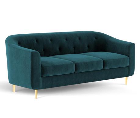 Canapea 3 locuri Corde Turquoise