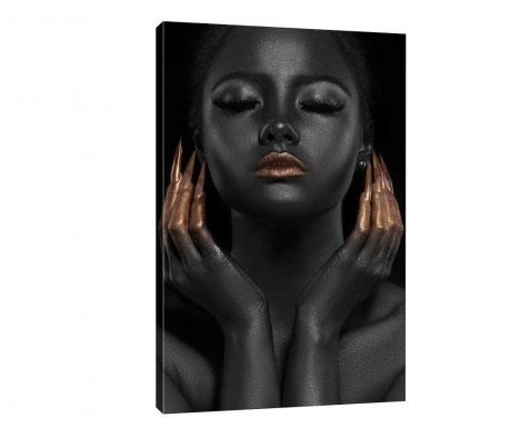 Tablou Black Vibe 70x100 cm