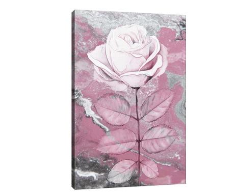 Leaf Rose Kép 40x60 cm