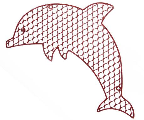 Dolphin Fali dekoráció