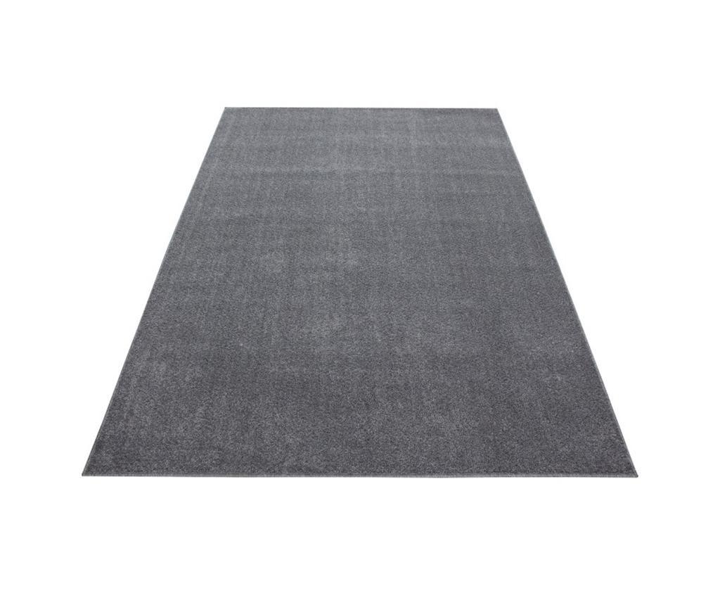 Ata Light Grey Műanyag szőnyeg 140x200 cm