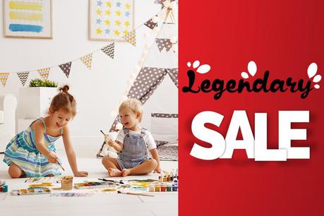 Legendary Sale: Všetko pre deti