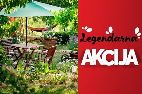 Legendarna Akcija: Vrt in okolica