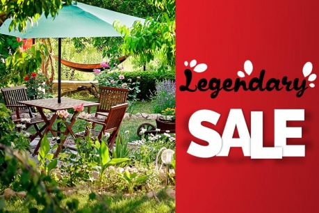 Legendary Sale: Záhrada a exteriér
