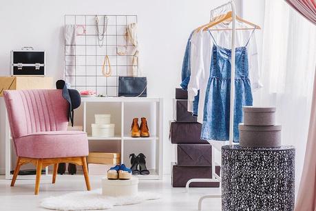 Organizare in dressing