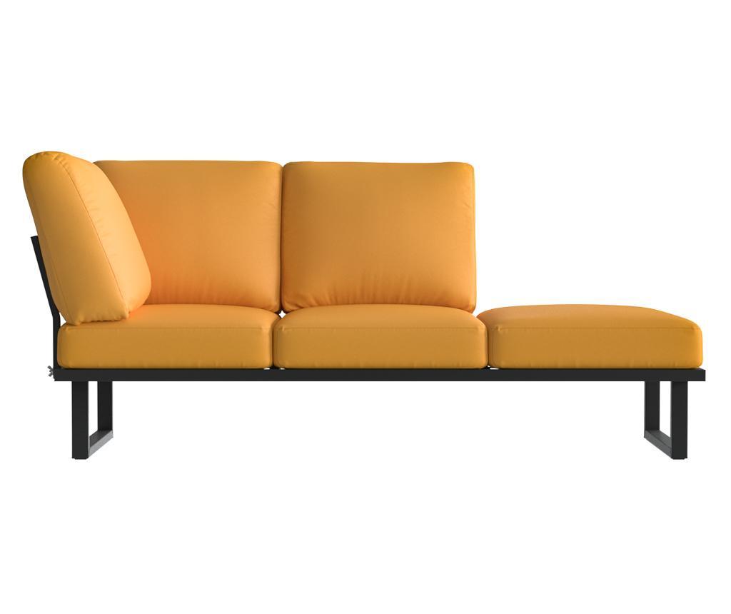 Sklopiva stolica za vanjski prostor Mark Yellow