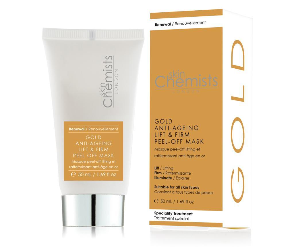 Anti-aging lift a pevná odlupovací maska SC Gold 50 ml