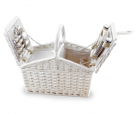 Оборудвана кошница за пикник за четерима Chic