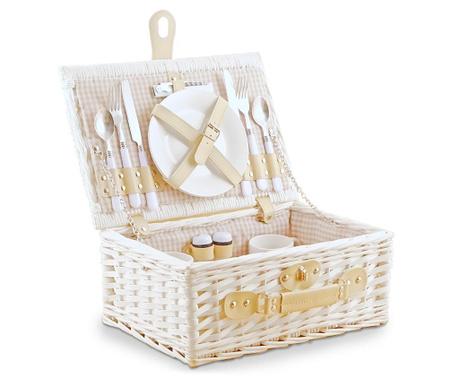 Оборудвана кошница за пикник за двама Sunlight