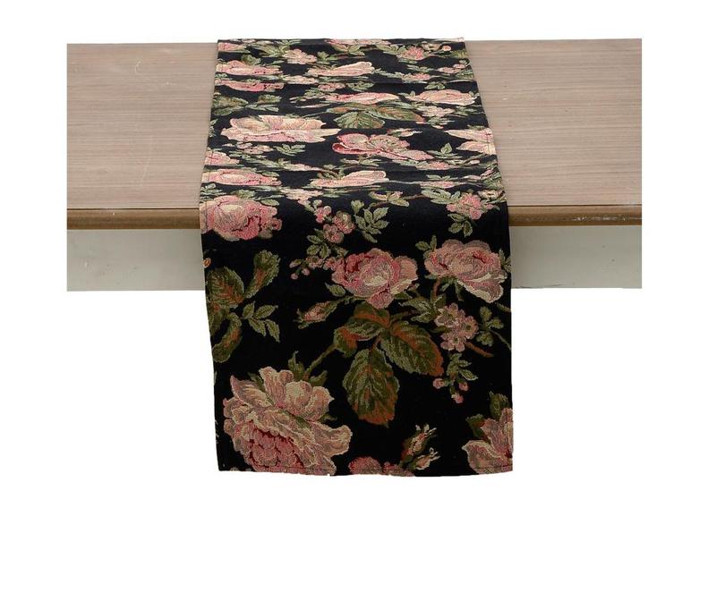 Nadstolnjak Pink Peonies 33x150 cm