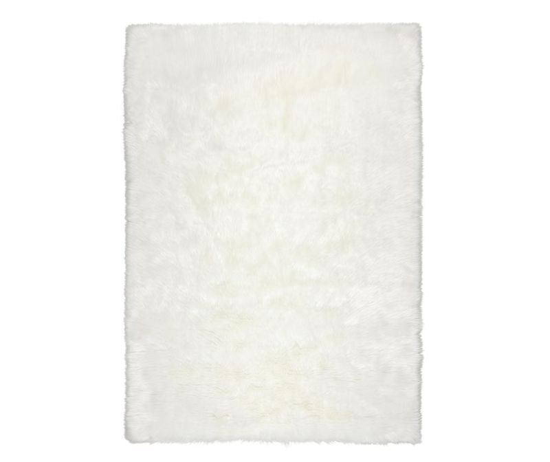 Preproga Sheepskin Faux Ivory 120x170 cm