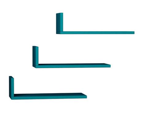 Model Turquoise 3 db Fali polc