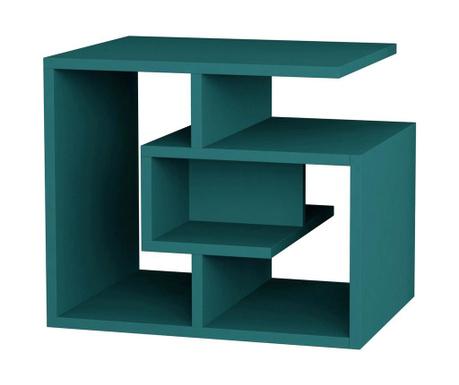 Maze Turquoise Asztalka