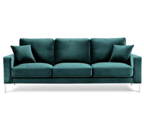 Lyrique Petrol Háromszemélyes kanapé