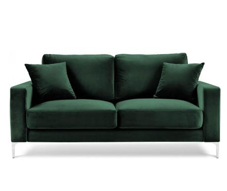 Lyrique Bottle Green Kétszemélyes kanapé