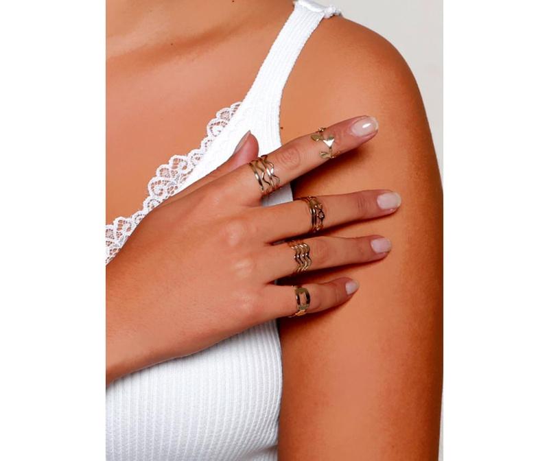 Set 5 prstanov Coata