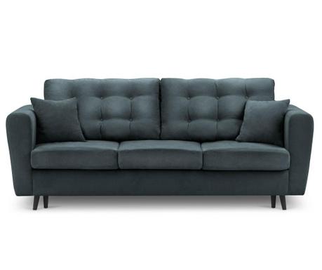 Chillout Gray-Blue Kihúzható háromszemélyes kanapé