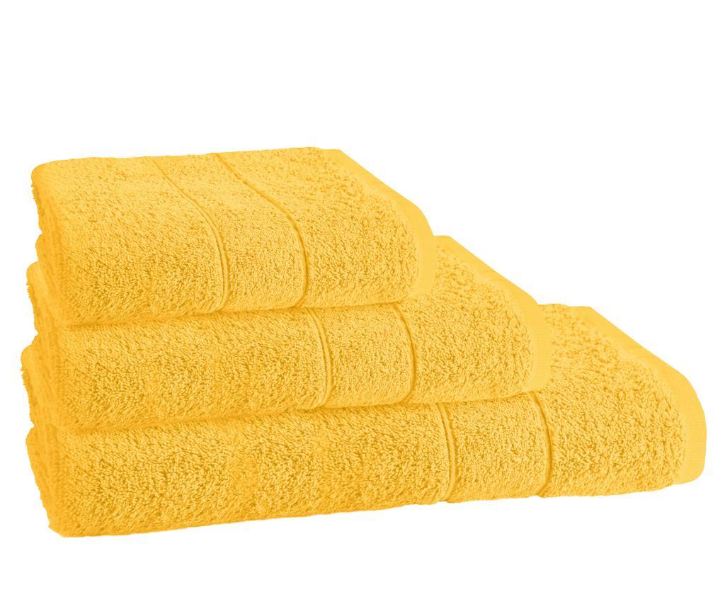 Kupaonski ručnik Napoli Yellow 30x50 cm