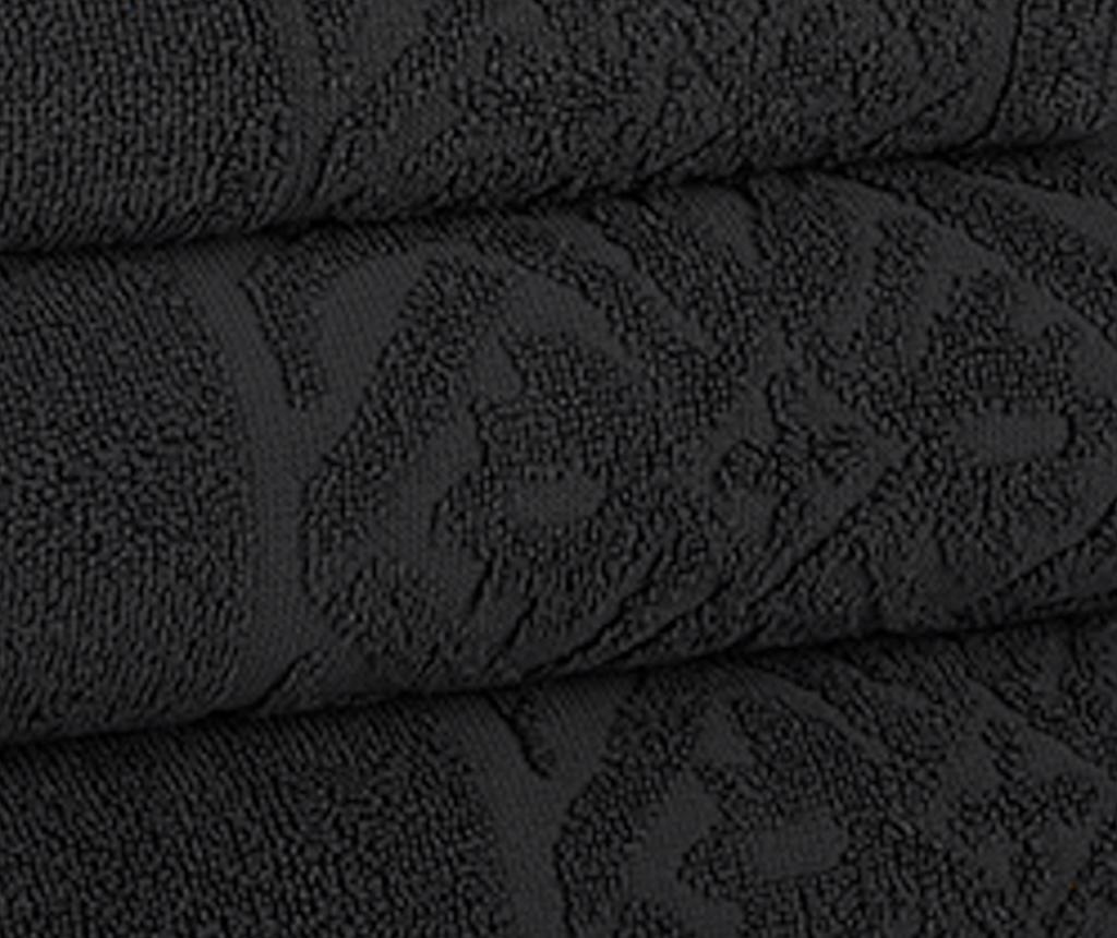 Kupaonski ručnik Porto Black 30x50 cm
